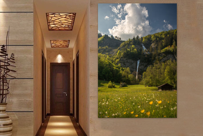Dundelbach Waterfall Canvas