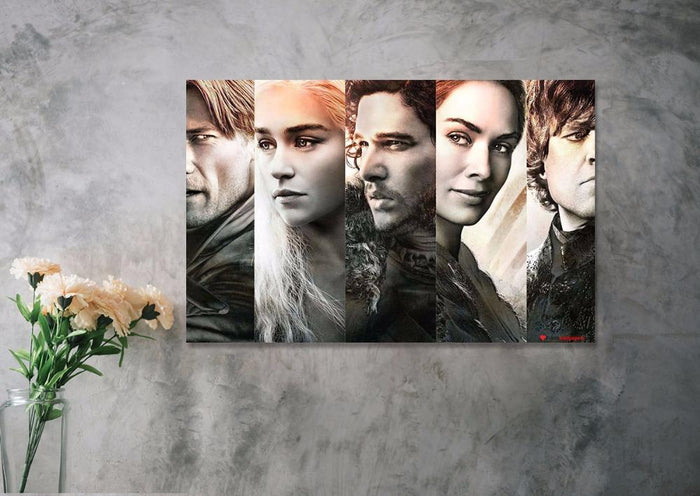 Game of Thrones Cast Canvas