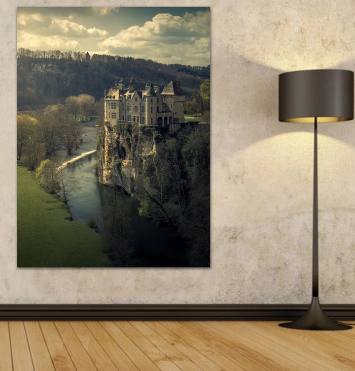 Walzin Castle Belgium Canvas