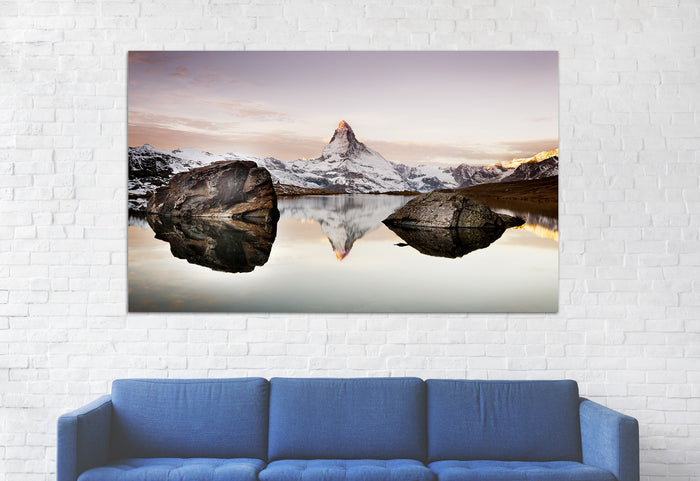 Matterhorn in Alps Canvas