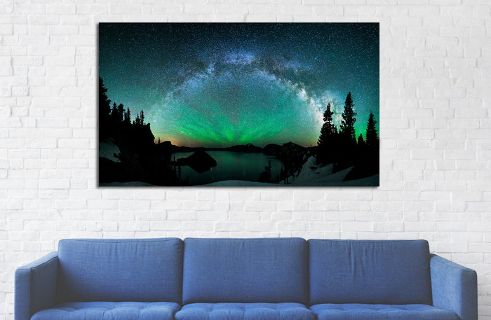 Northern Lights Canvas