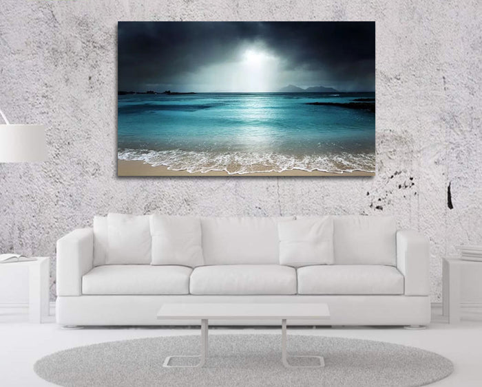 Beach Waves Canvas