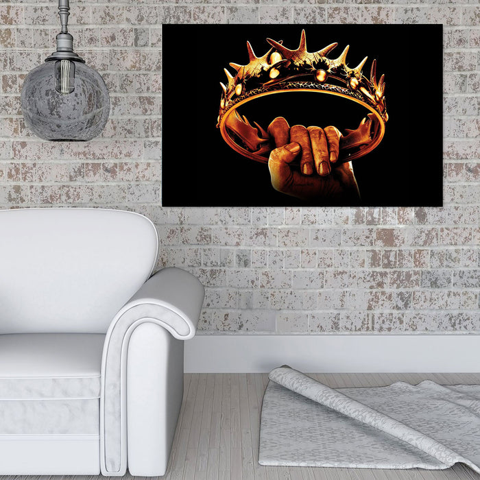 Game of Thrones Crown Canvas