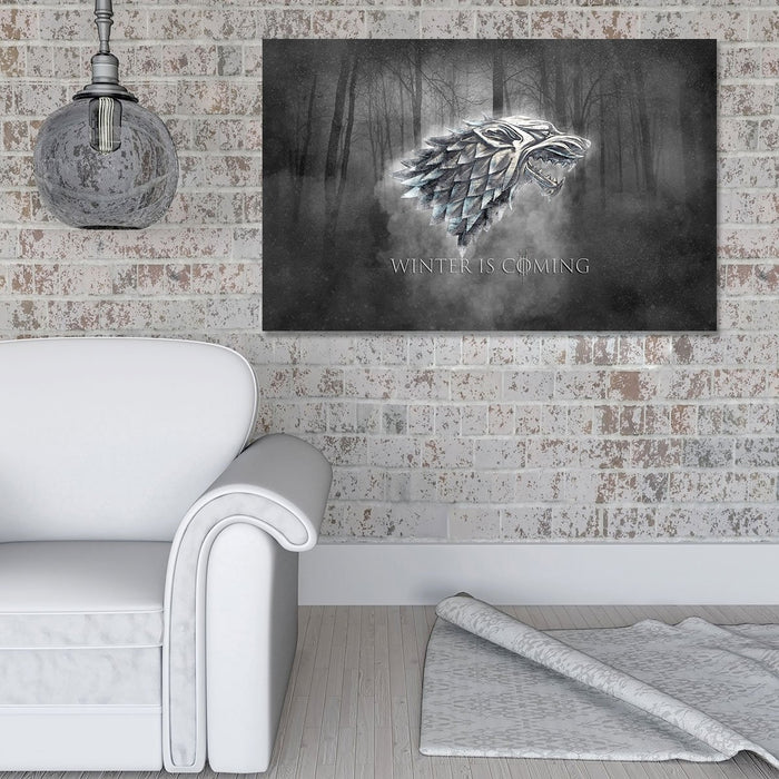 Grey House Stark Canvas