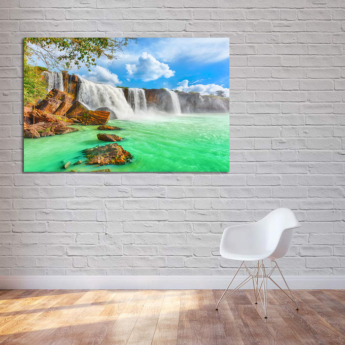 Mighty Waterfalls Canvas