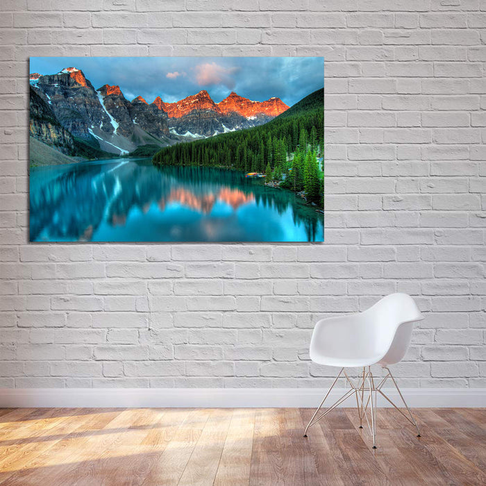 Moraine Lake Escape Canvas