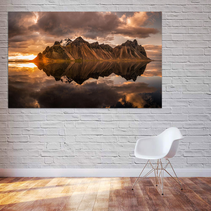 Mountain Reflection Canvas
