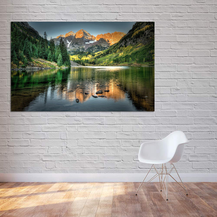 Tranquil Lake Canvas