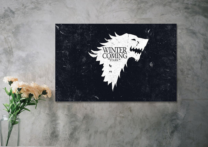 Winter is Coming II Canvas