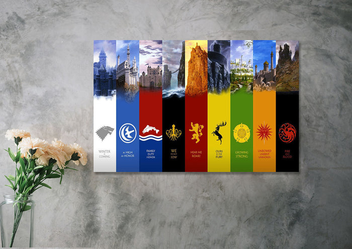 Seven Kingdoms Canvas