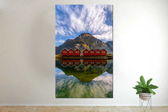Sunndalsora Norway Canvas