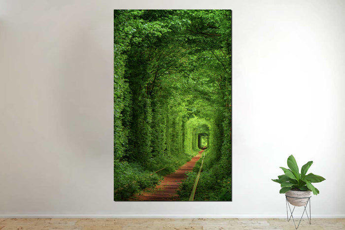 Tunnel Of Love Ukraine Canvas