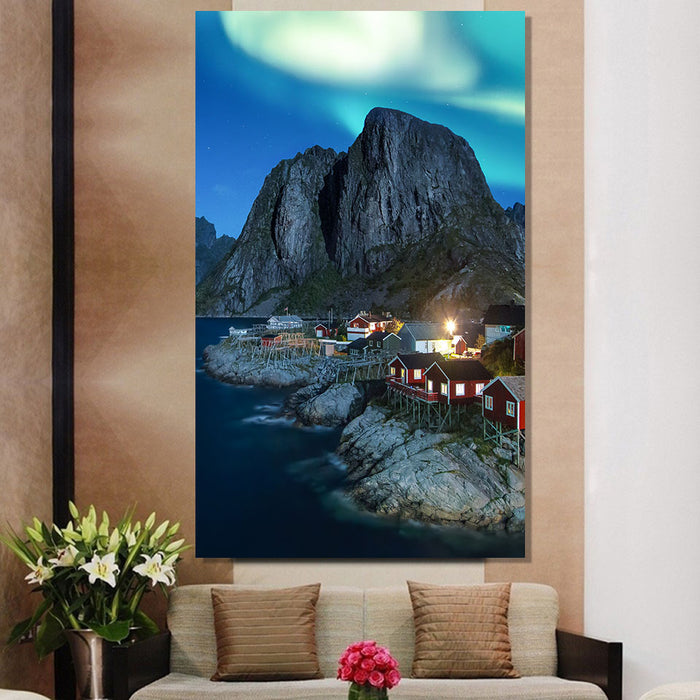 Hamnoy Norway Canvas