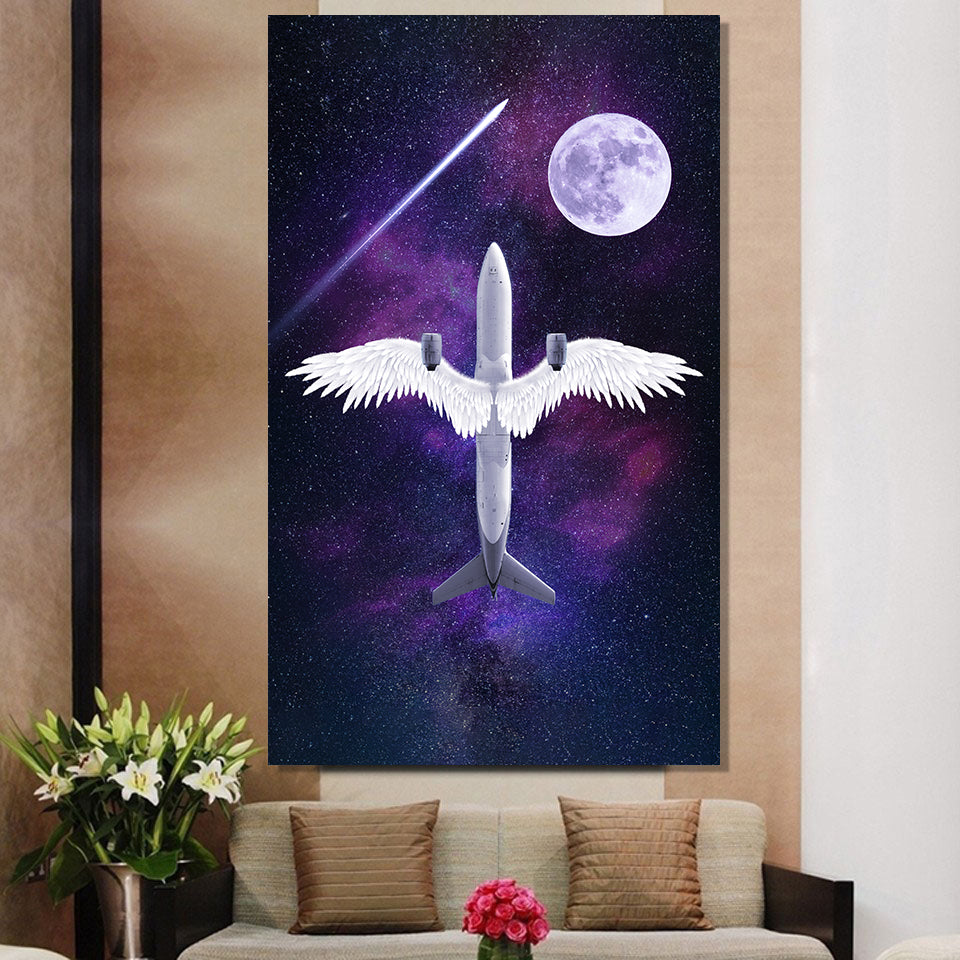 Boeing Angel Wing Canvas