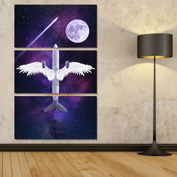 3 PC Boeing Angel Wing Canvas