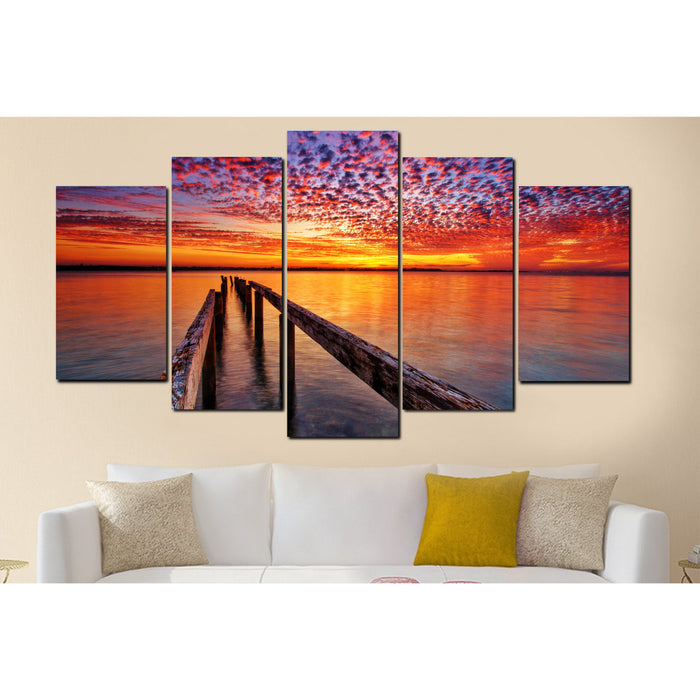 Fire In The Sky Canvas