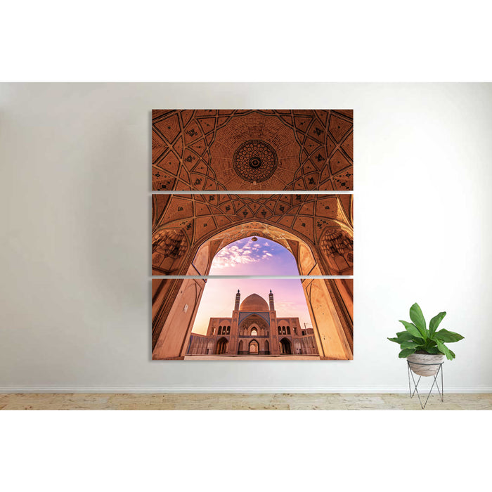 3 PC Agha Bozorg Mosque Canvas