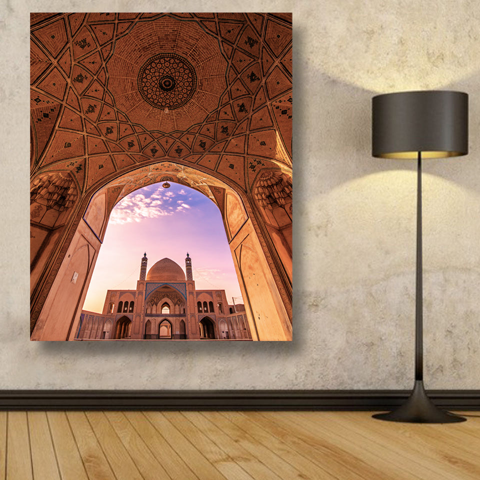 Agha Bozorg Mosque Canvas