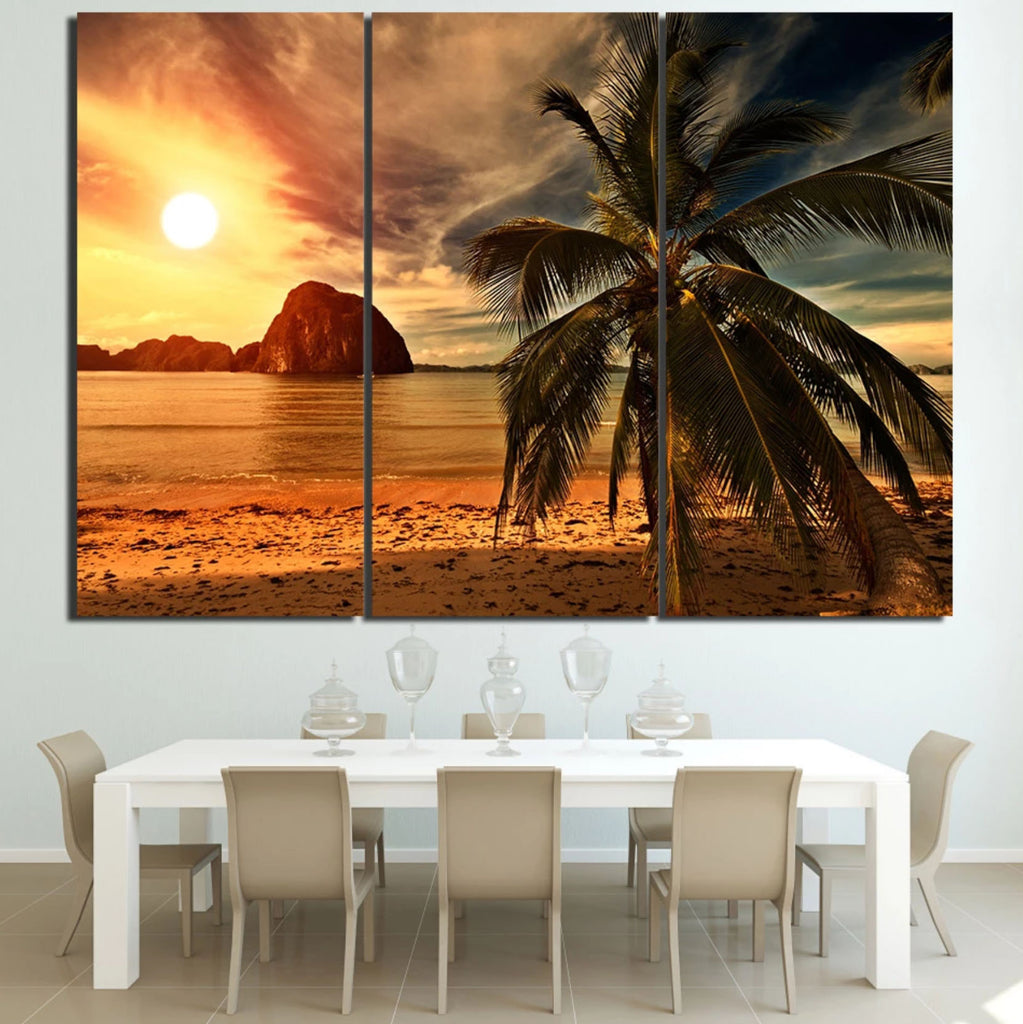 Oregon Sunset Canvas