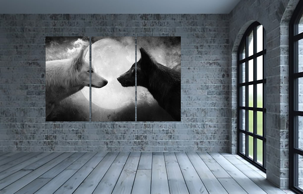 Game of Thrones Direwolves Canvas