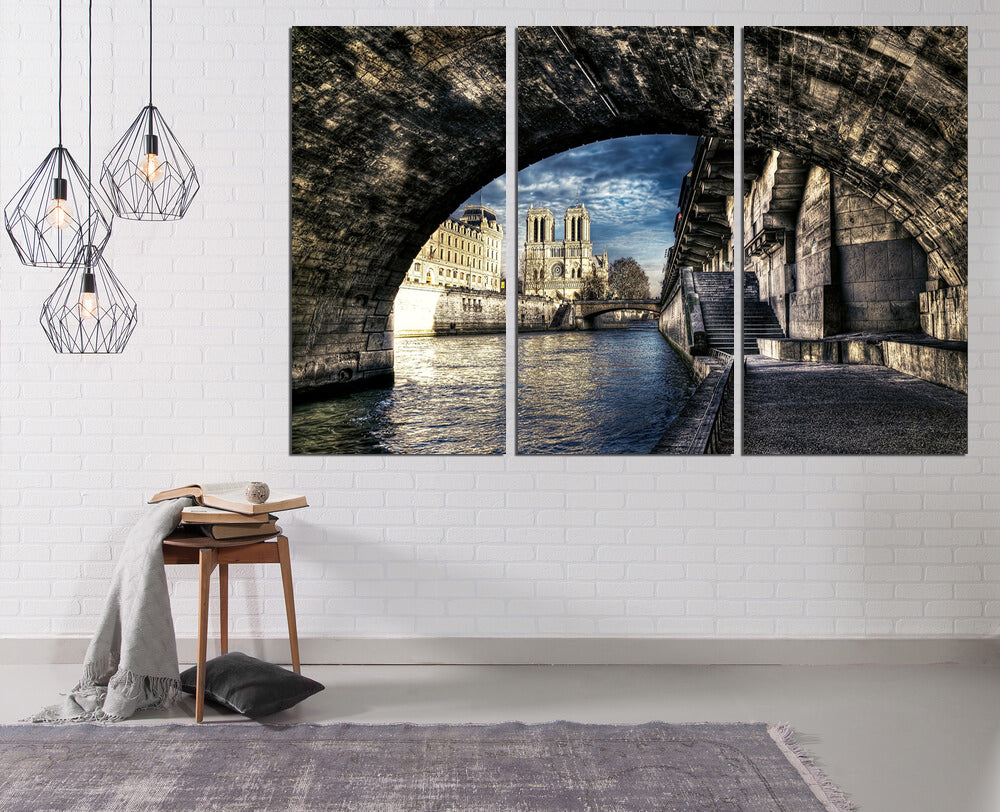French Canals Canvas