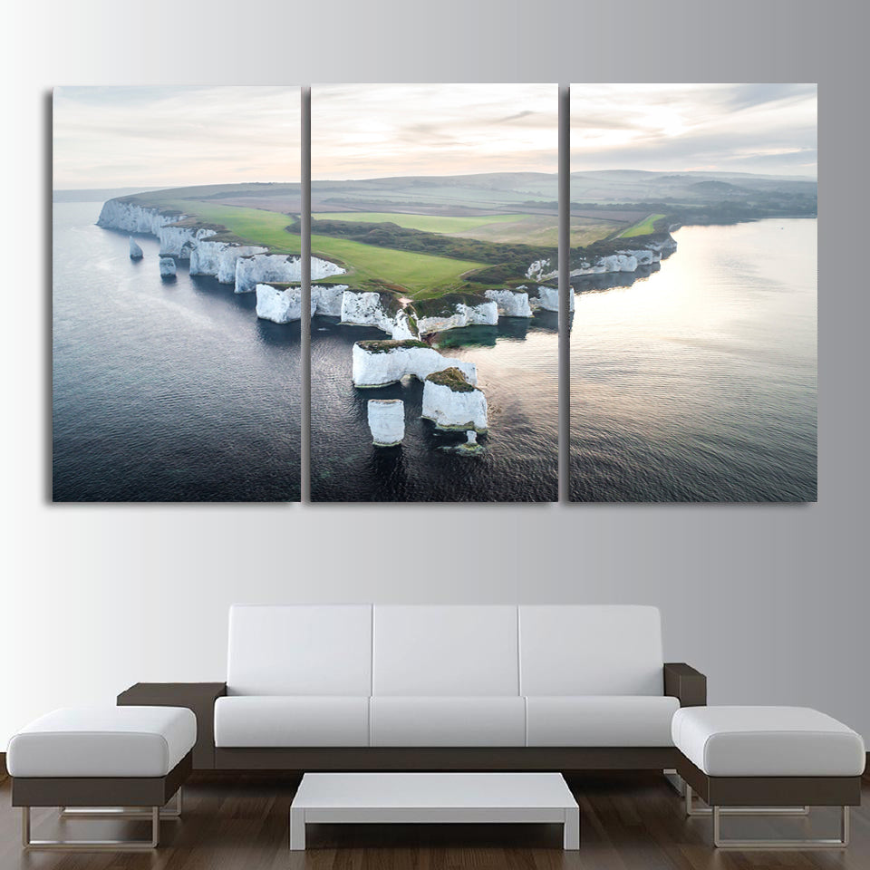 Old Harry Rocks Canvas