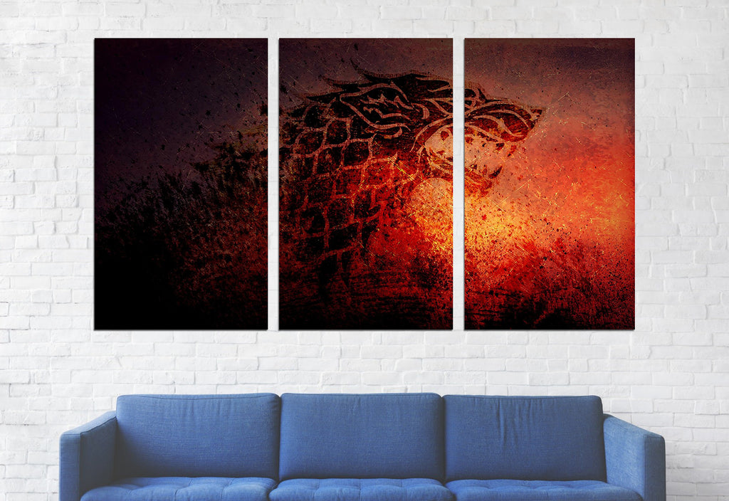 House Stark II Canvas