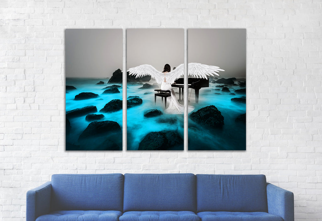 Music of Loneliness Canvas