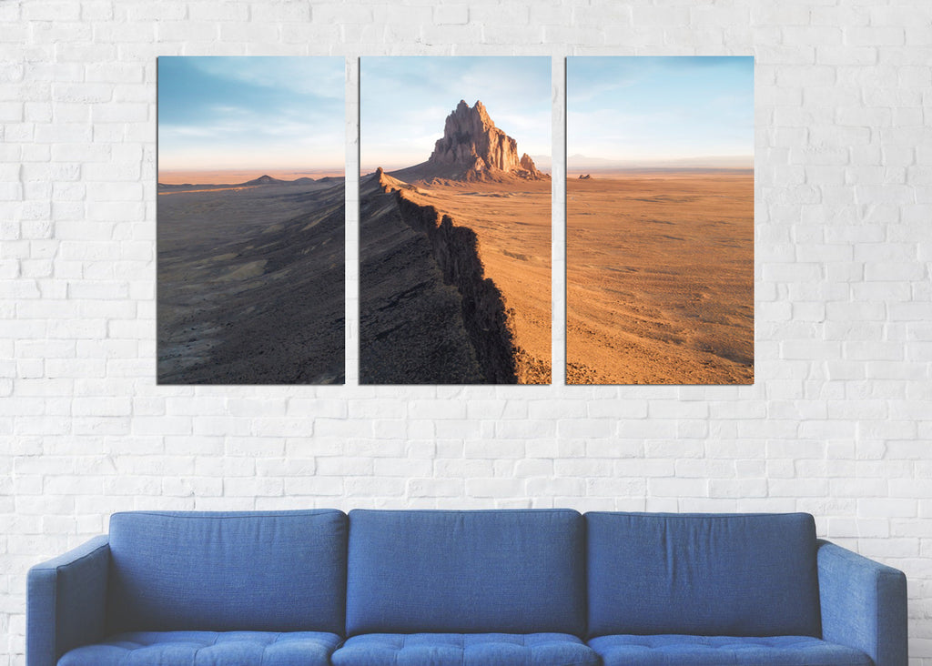 Shiprock Peak Canvas
