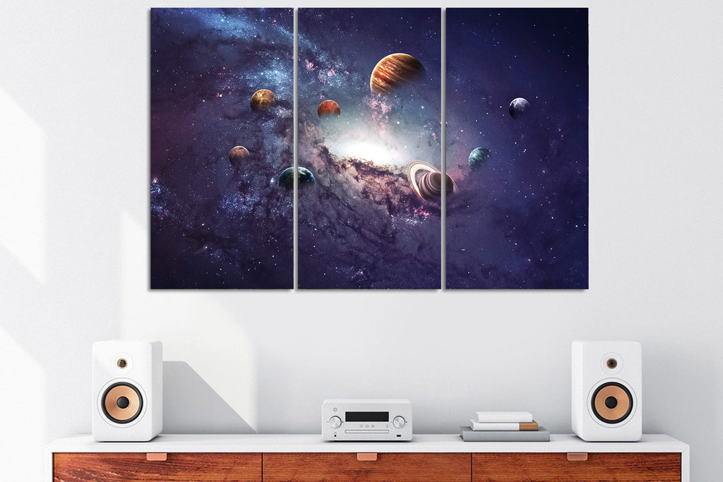Planets in the Sky Canvas