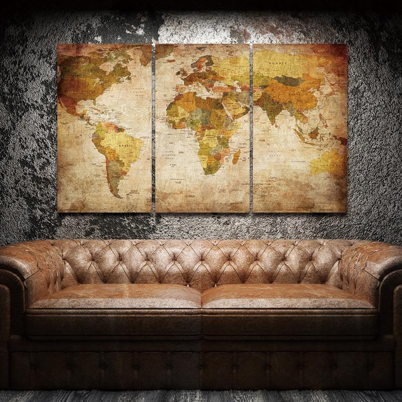 Vintage World Map II