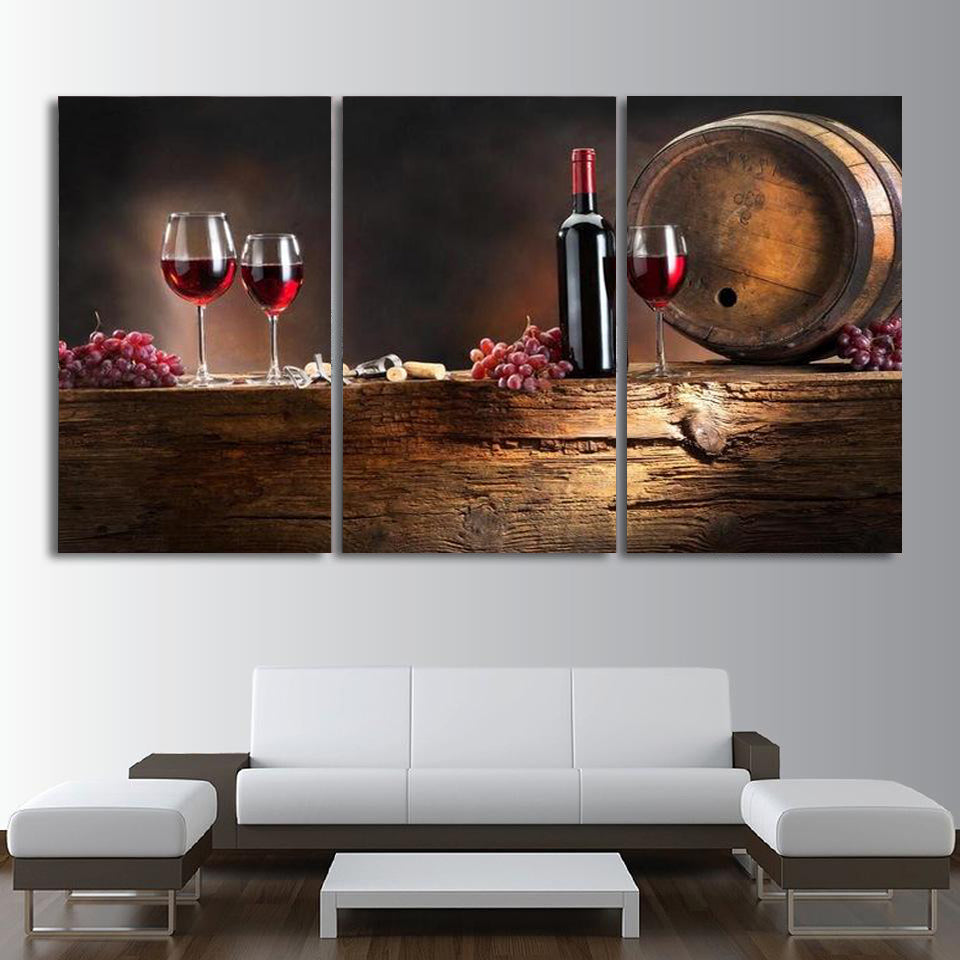 Winery Tour Canvas