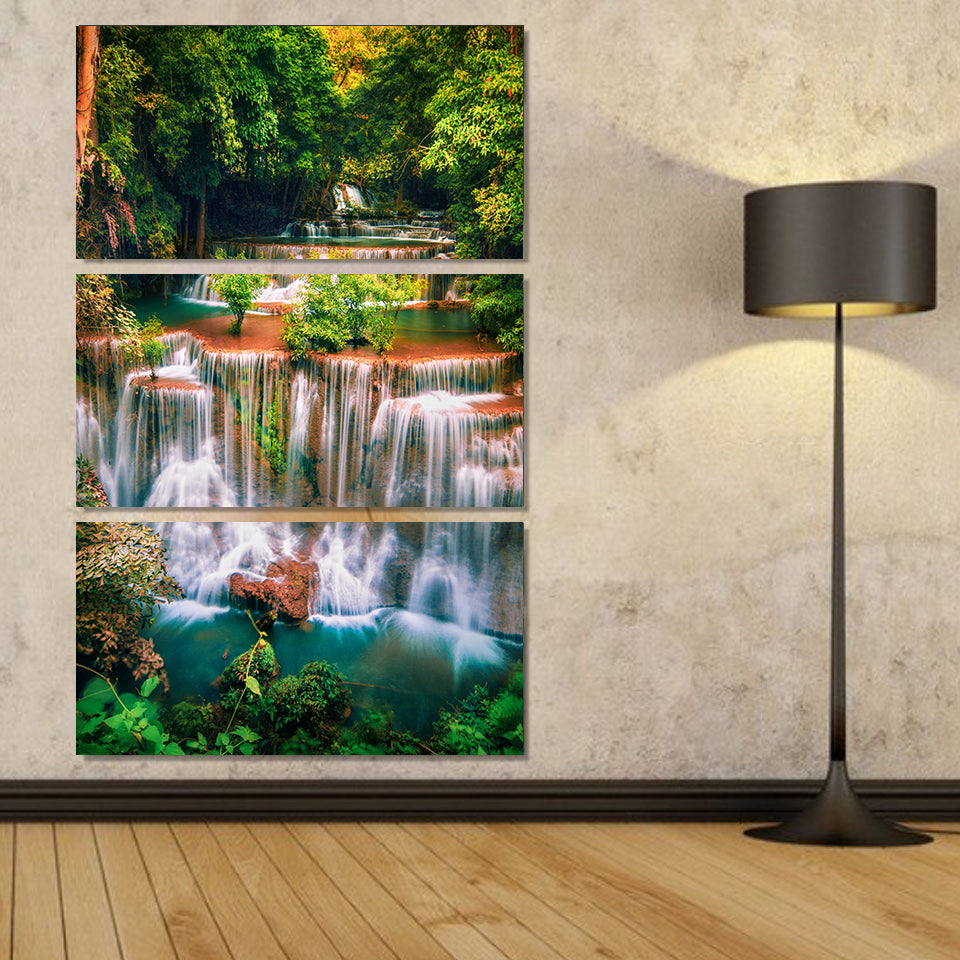 Waterfalls of Thailand Canvas