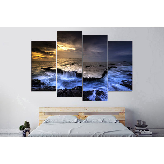 Blue Rocks Canvas