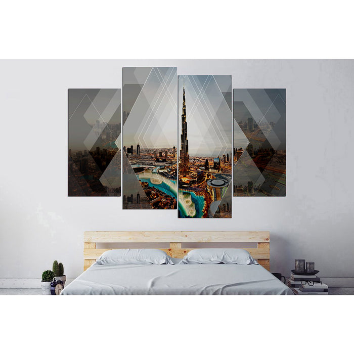 Burj Khalifa Canvas