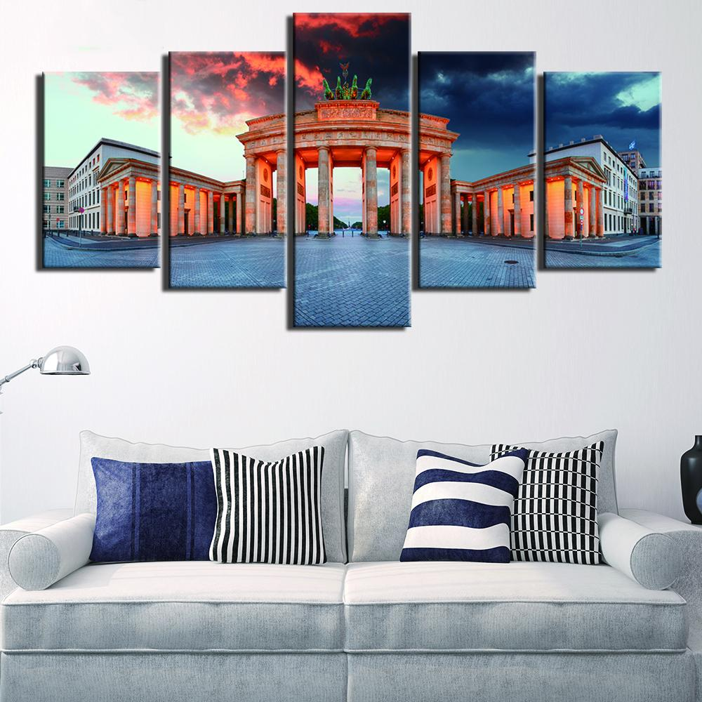 Brandenburg Gate Canvas