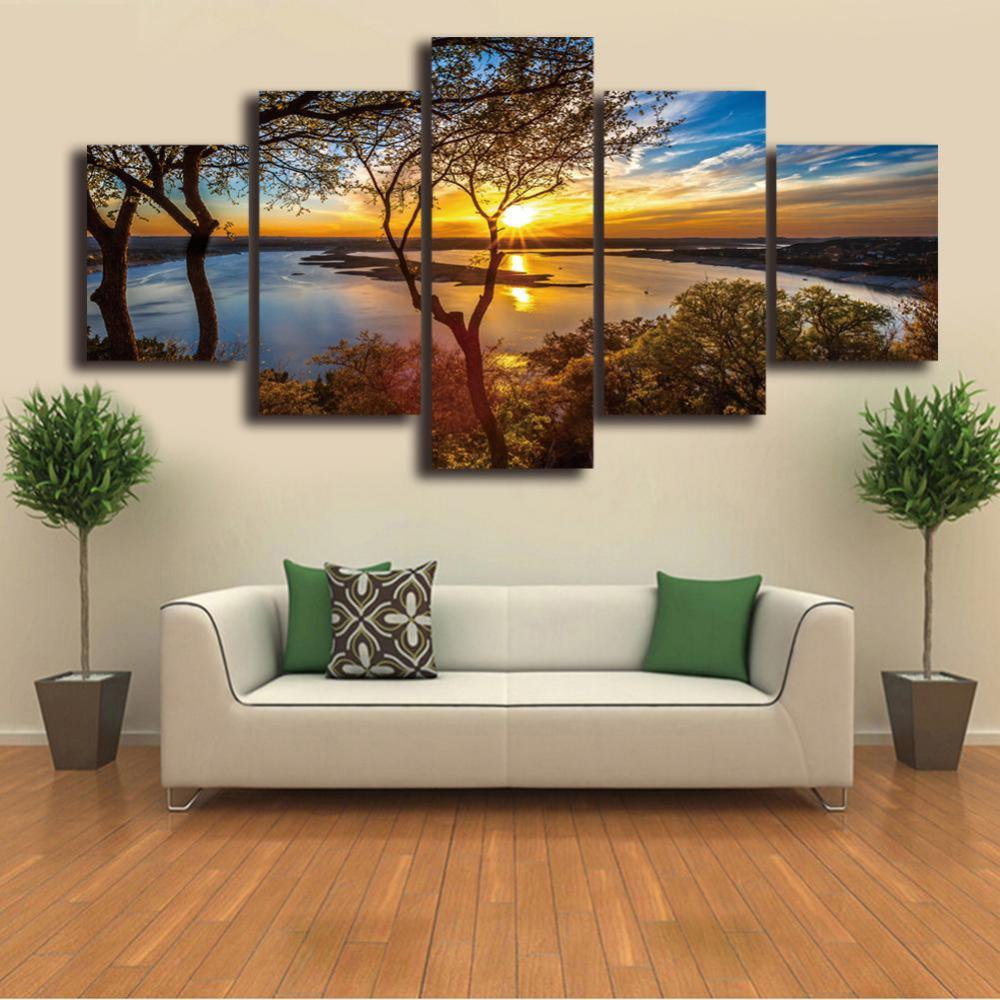 Sunset Viewpoint Canvas