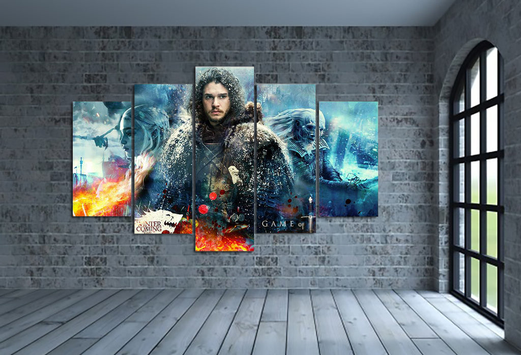 Jon Snow Canvas