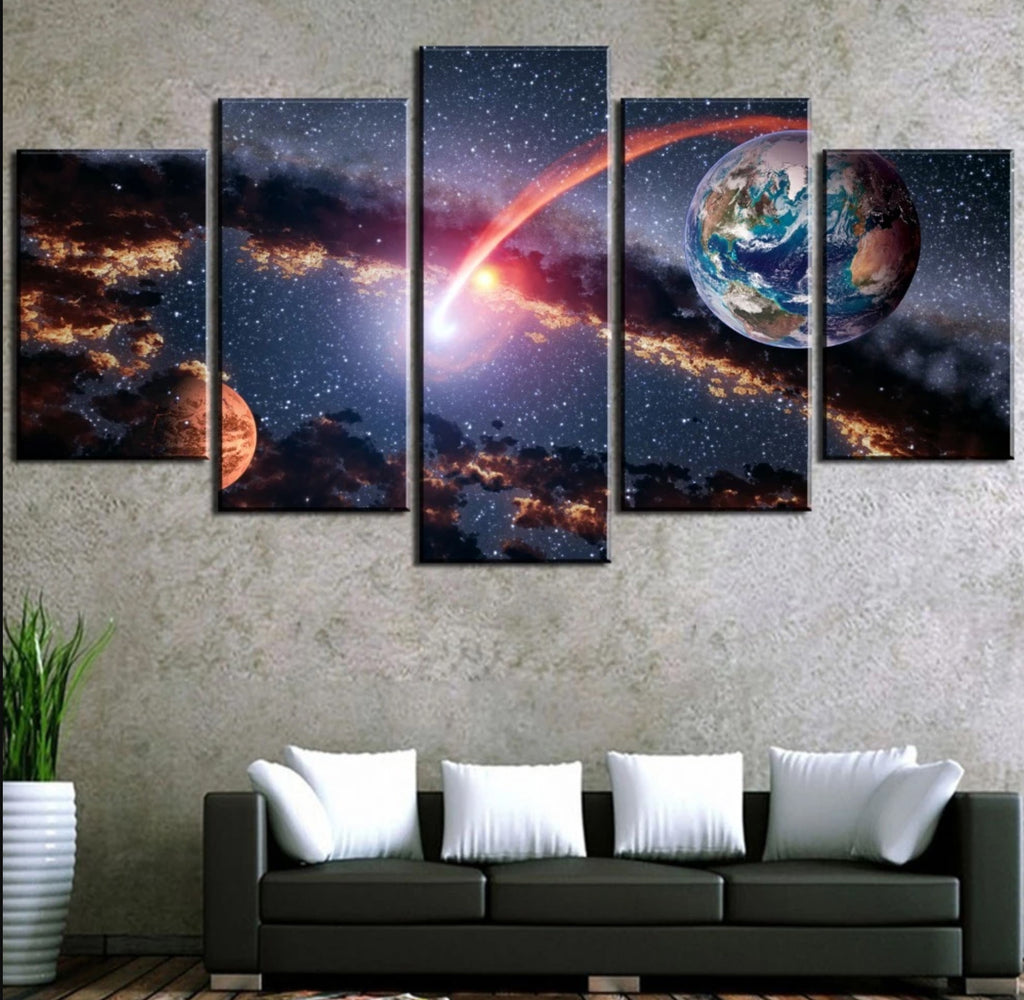 Outer Space Canvas