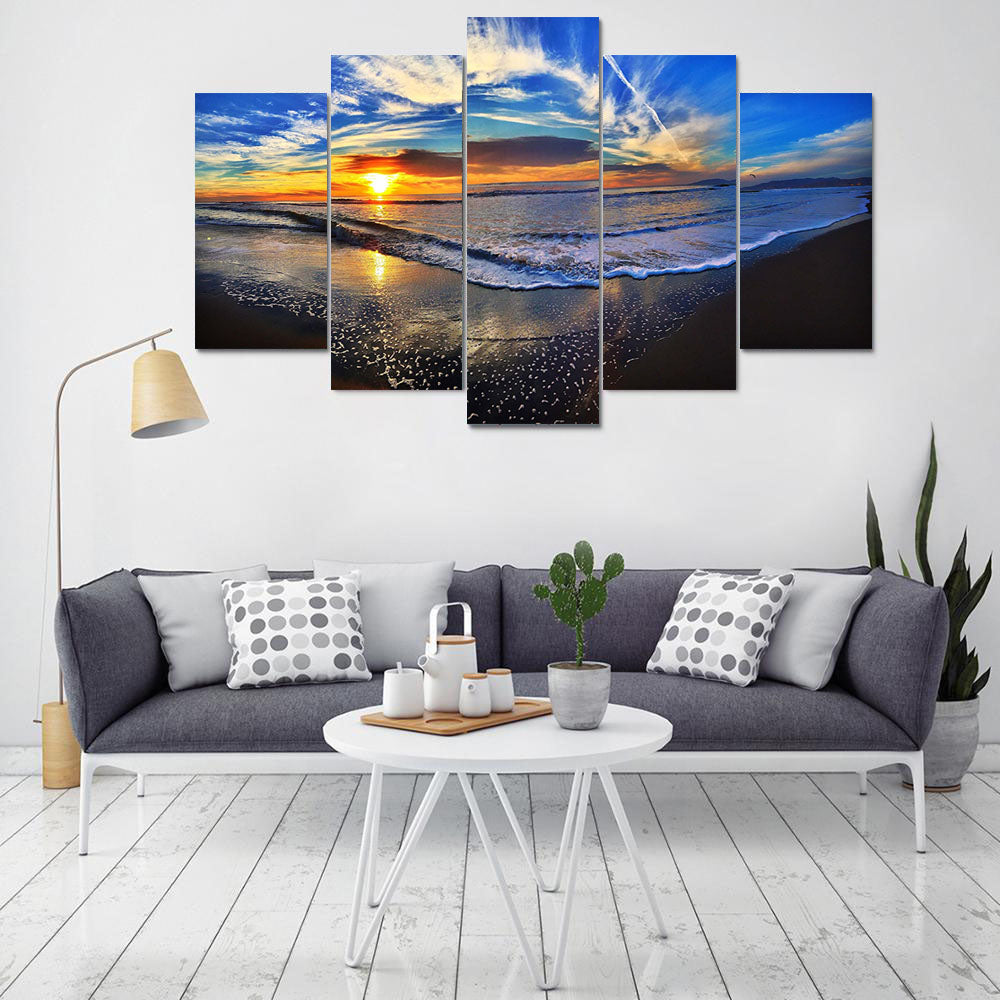 Sandy Beach Canvas