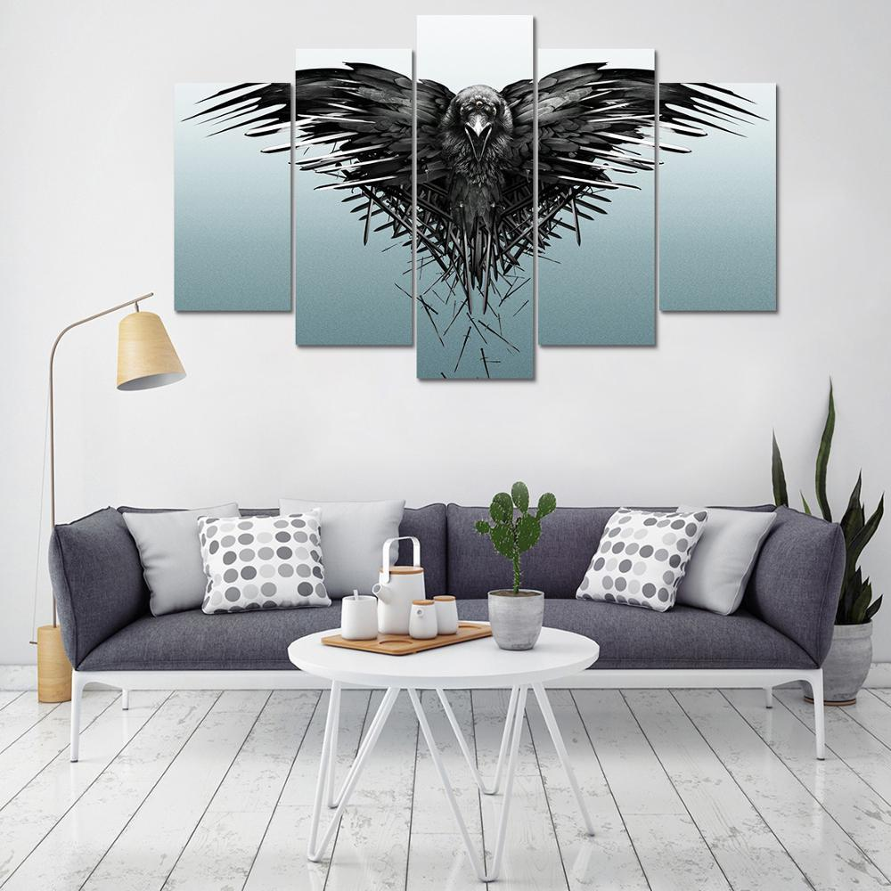 Three Eyed Raven Canvas