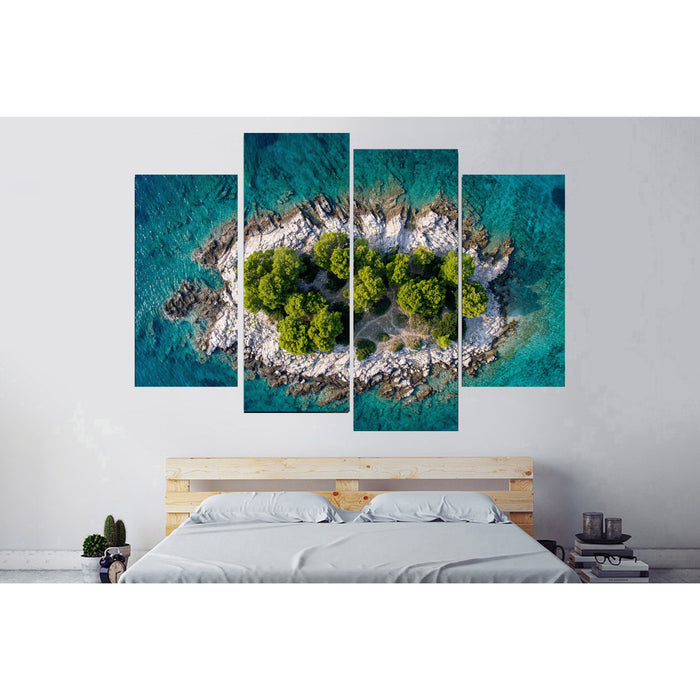 Dream Island Canvas