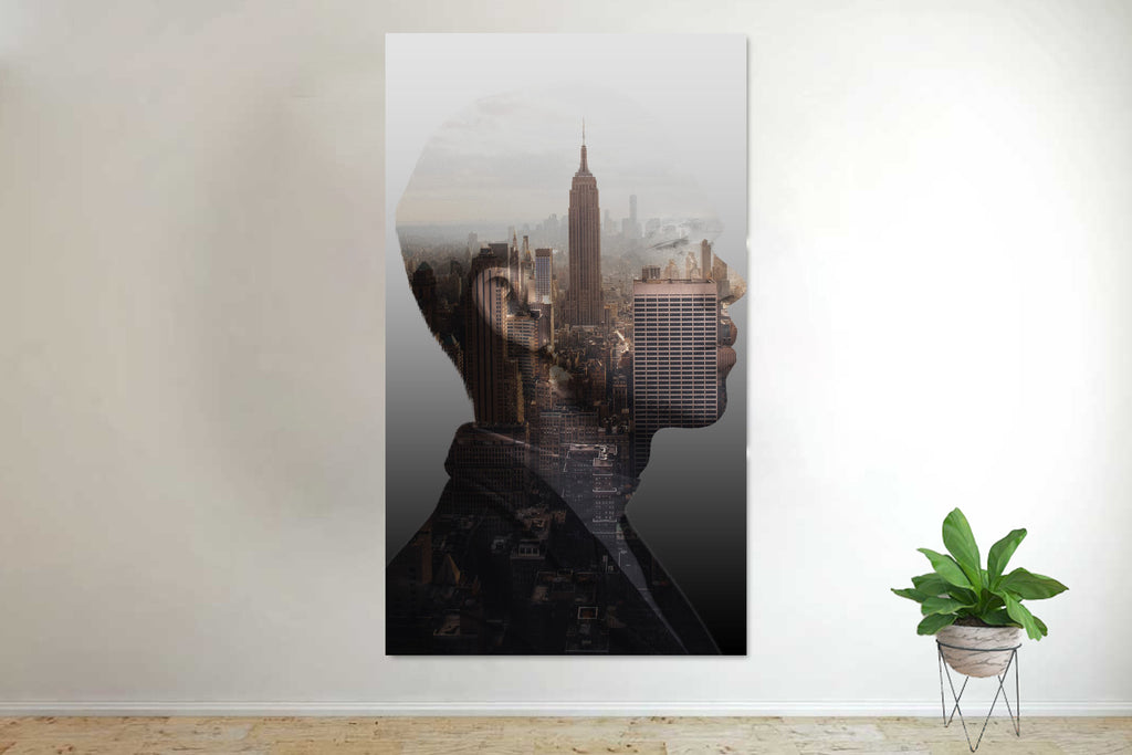 Busy Minds New York City Canvas