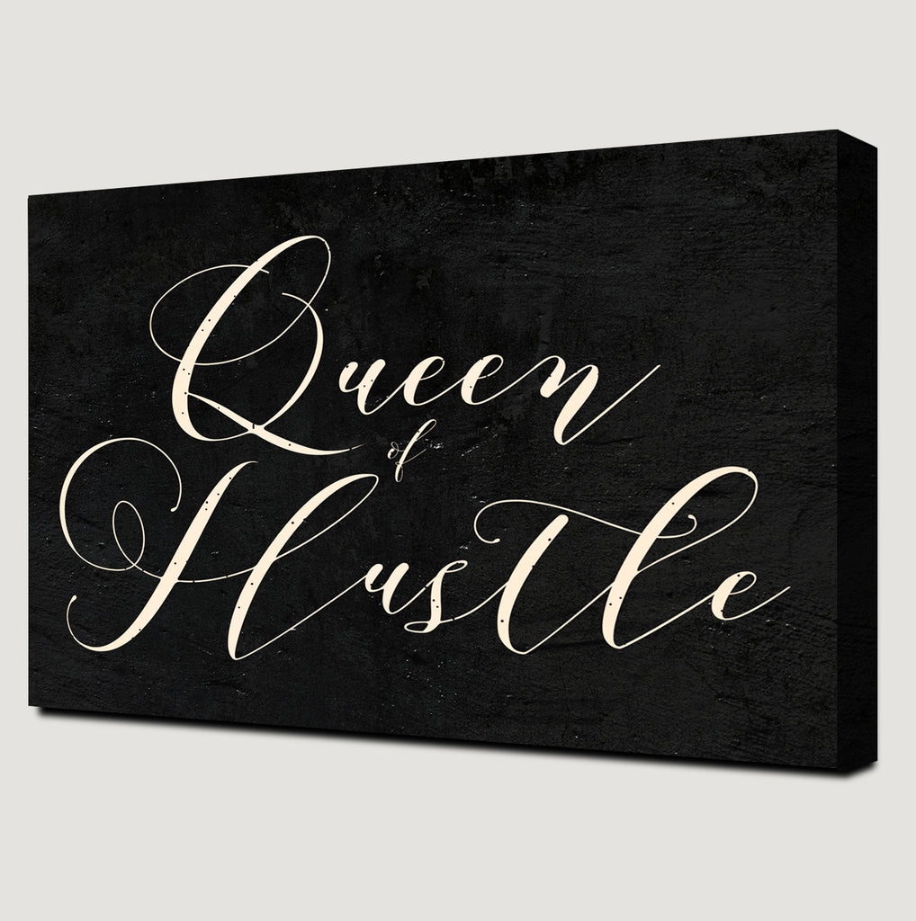 Queen of Hustle Canvas