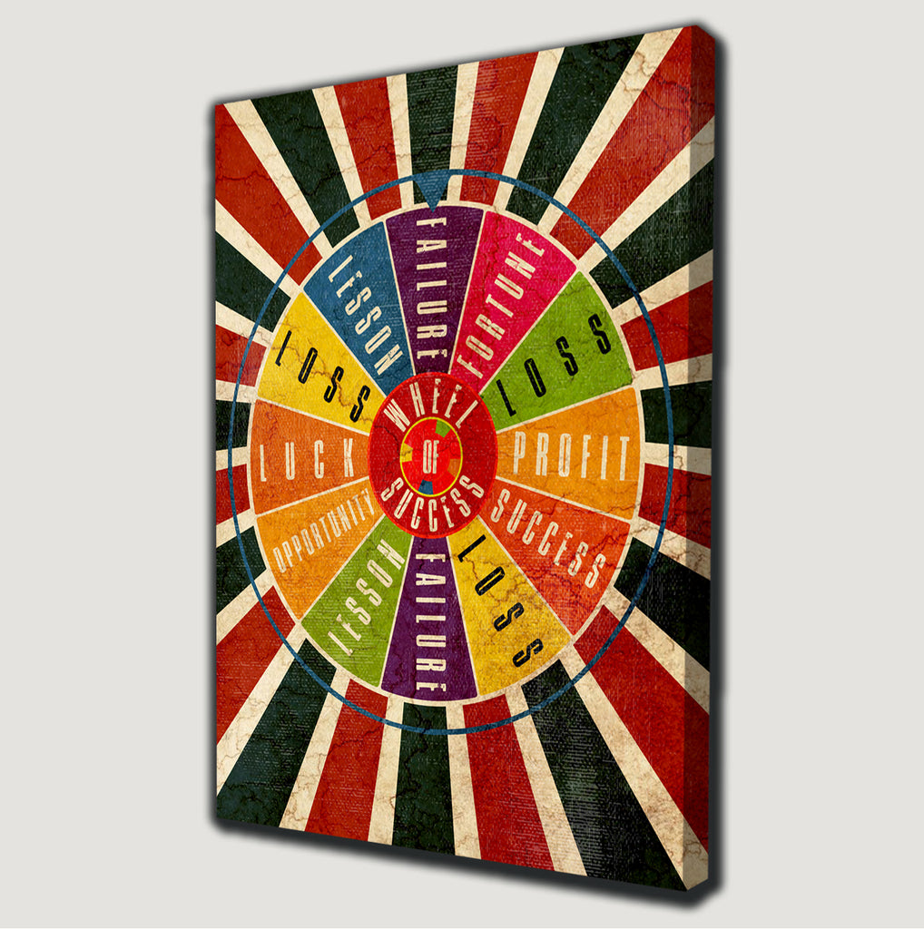 Wheel of Success Canvas