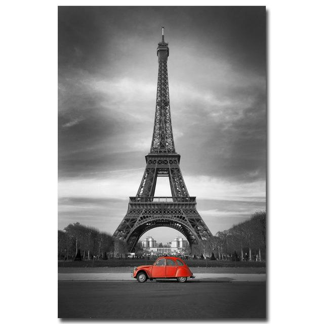 Eiffel Tower Canvas