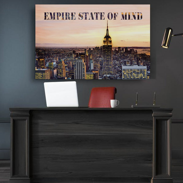 Empire State Of Mind Canvas