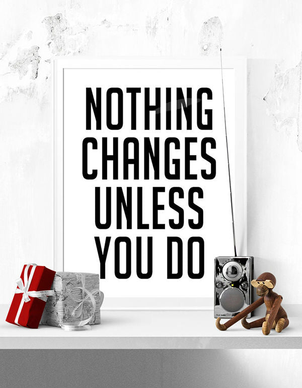 1 PC Changes Motivational Canvas