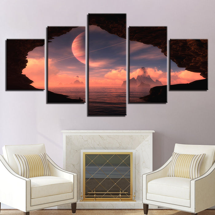 Planet in the Sky Canvas