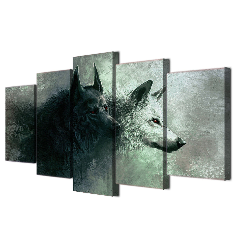 Wolves Canvas